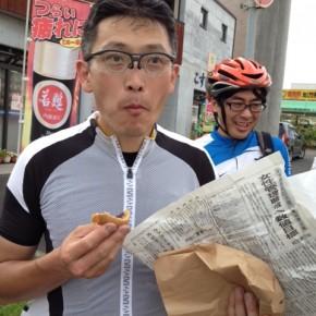 丁未峠サイクリング
