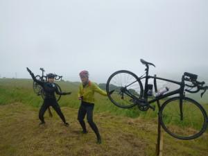 自転車台があったので、記念撮影もしました!