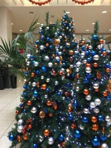 お店の中はまだクリスマス気分?