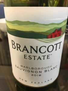 この日のワインはこれ!もちろんNZ産ワインです。
