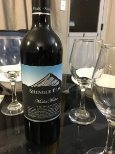 この日のワインはこれ。
