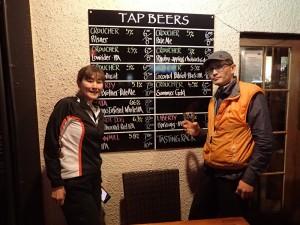 本日のビールたち。全種類制覇を目指しましたが、売り切れのものもあり残念。