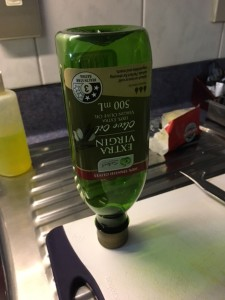 オリーブオイルも1瓶使い切りました!
