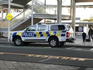 NZのポリスカーがトラックなのがお国柄を感じます。