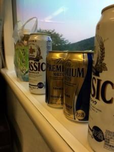 自転車の旅も楽しいですが、列車の旅も楽しいですね。