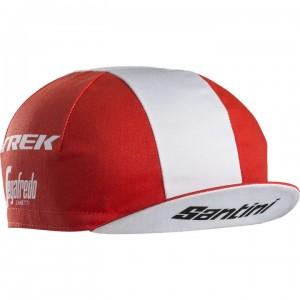 ヘッドウェア Santini Trek-Segafredo Team CyclingCap  Red フリーサイズ