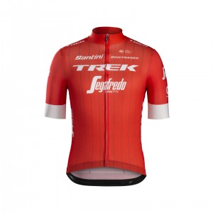 ジャージ Santini Trek-Segafredo Replica Red サイズXS/S/M/L/XL