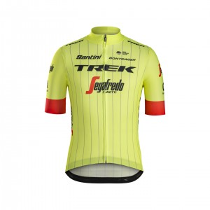 ジャージ Santini Trek-Segafredo Replica Yellow サイズXS/S/M/L/XL