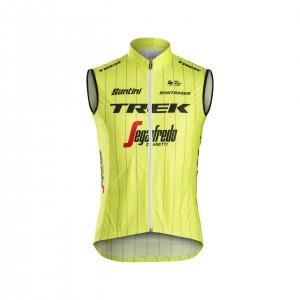 ベスト Santini Trek-Segafredo Team Windshell Yellow サイズS/M/L