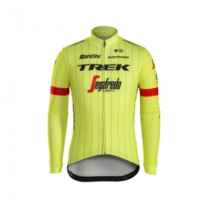 ジャージ Santini Trek-Segafredo Team Thermal Yellow サイズS/M/L