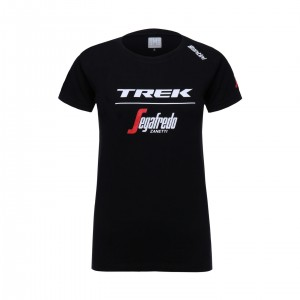 シャツ Santini Trek-Segafredo Tee Men Black サイズXS/S/M/L/XL