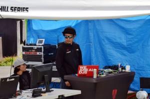 DJ竹本。