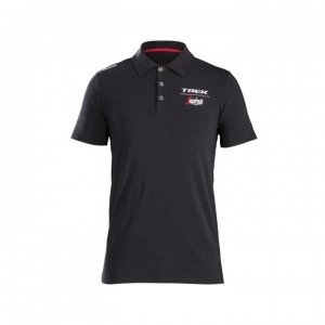 シャツ Santini Trek-Segafredo Polo Men Black/White サイズ:XS/S/M/L