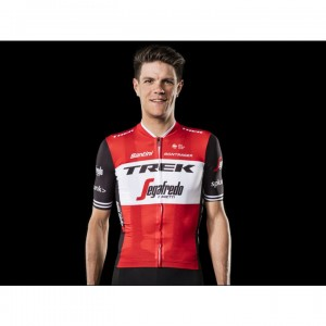 ジャージ Santini Trek-Segafredo Team Red/Black サイズ:S/M/L