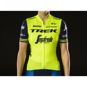ジャージ Santini Trek-Segafredo Women's Replica Yellow サイズ:XS/S/M/L