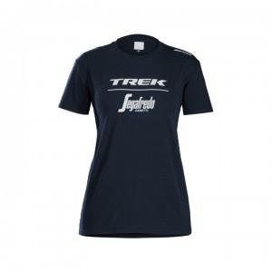 シャツ Santini Trek-Segafredo Tee Women Blue サイズ:XS/S/M/L