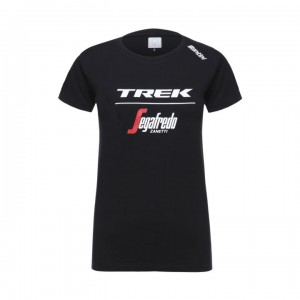 シャツ Santini Trek-Segafredo Tee Men Black/White サイズ:XS/S/M/L/XL