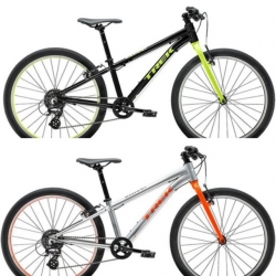Wahoo 24 カラー:Trek Black/Volt、Quicksilver/Roarange